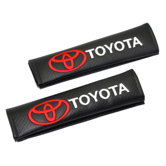 2XCar Seat Belt Shoulder Pad Safety Belt Cover For Toyota (All Car Model) - intl