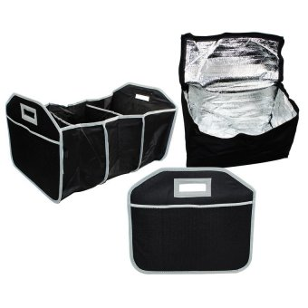 3-Section Collapsible Trunk Organizer - picture 2