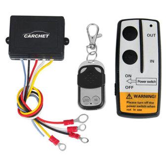 3 Wireless Winch Remote Control Kit 12v For Truck Jeep Suv Atv - picture 2