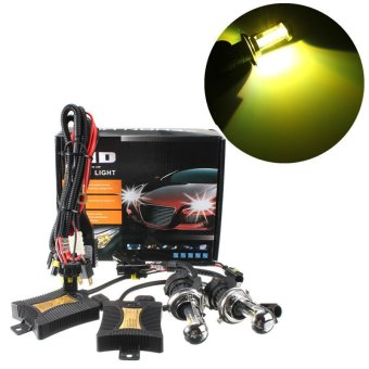 3000k 1 Set Xenon HID Conversion Kit H4 55W DC12V Dual Beam Headlight - intl