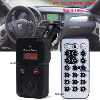 302E Hands-Free Car Kit FM Transmitter (Black)