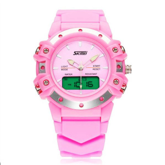 30m Waterproof Digital Wristwatch (Pink) - picture 2