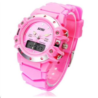 30m Waterproof Digital Wristwatch (Pink)
