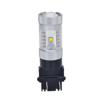 3157 DC 12-24V 30W LED Car Brake Light Lamp Bulbs (White)