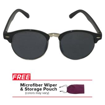 32sunny Kiara Clubround Clubmaster Black Sunglasses Price Philippines