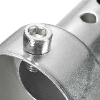 35/42/45/48/60mm Universal Motorcycle Exhaust Muffler Baffle Silencer Silver (short 42mm) - intl - 5