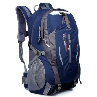 35L Outdoor Backpack for Hiking & Camping (Navy Blue)
