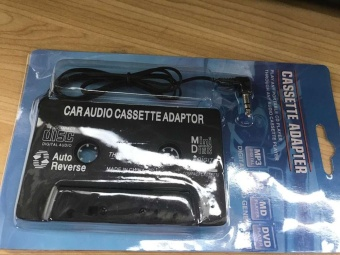 3.5mm AUX Car Audio Cassette Tape Adapter Transmitters for MP3 IPod- intl