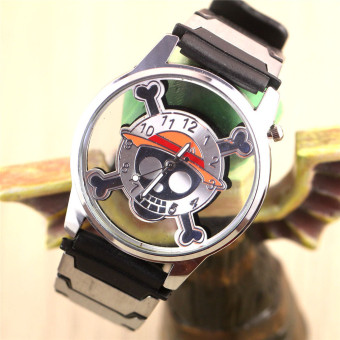 'Anime Boys'' One Piece Skeleton Hollow Watches(Color:as Pic)'