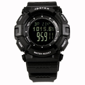 3ATM Waterproof Sports Spovan Blade I V Multifunction Outdoor Digital Watch Barometer Altimeter Thermometer Weather Forecast Stopwatch - intl