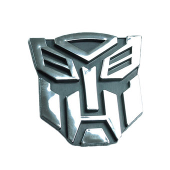 3D Metal Transformers AUTOBOT Optimus Prime Decal Sticker Car Sticker