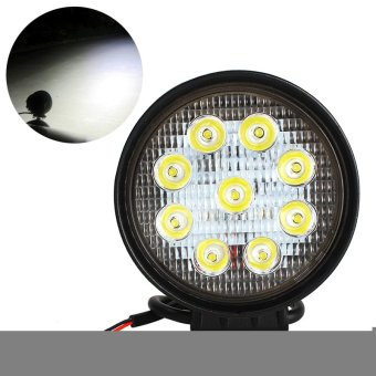 4 Inch 27W LED Work Lamp 12V 24V 4x4 Off Road ATV Truck Boat UTVDriving Light Round Fog Lights Spot Beam