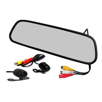 "4.3"" Rearview TFT LCD Monitor (Black)"