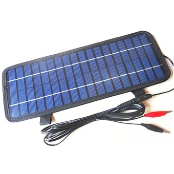 4.5W/12Volt Smart Power Solar Panel Charger Charger for Car BoatMotorcycle