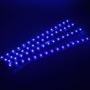 4pcs 12V 30CM/15 LED Car Motors Truck Flexible Waterproof StripLight - intl - 5