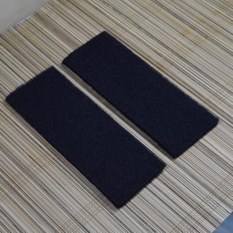 4pcs Sea Quest Bio Foam Biological Filter Wool Matt for Aquariums(Small) - Black - 2