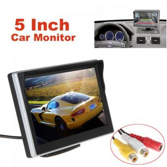5 Inch TFT-LCD Digital Car Rear View Monitor LCD Display for VCD / DVD / GPS / Camera with Front Diaphragm