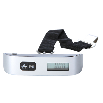 50 kg/110lb Portable Electronic Luggage Scale (Sliver)