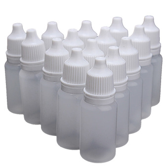 50 PCS 10ml Empty Plastic Eye Dropper Eye Liquid Saline Squeeze Dropper Bottle