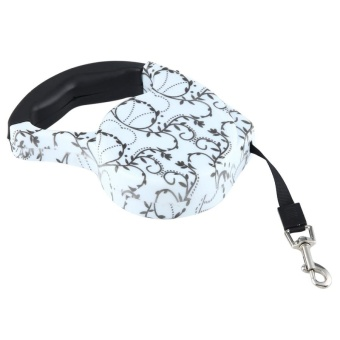 5m Creeper Pattern Flexible Retractable Dog / Cat Leash For Daily Walking - intl - 4