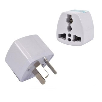 5PCS High Quality Universal Power Adapter Travel Adaptor 3 Pin AU Converter US/UK/EU To AU Plug Charger for Australia New Zealand - intl Price Philippines