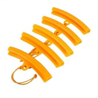 5x Car Tire Changer Guard Rim Protector Tyre Wheel Changing Orange- intl
