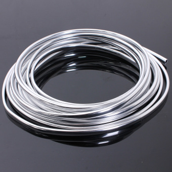 6-Meter Chrome Moulding Trim Strip Car Door Edge Scratch Guard Protector Cover - intl