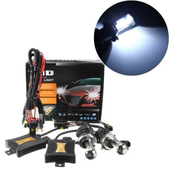 6000k 1 Set Xenon HID Conversion Kit H4 55W DC12V Dual Beam Headlight - intl