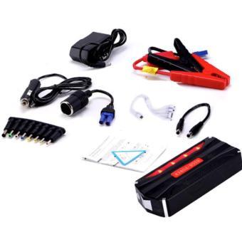 68800mAh 4USB Multi-Function 12V Car Jump Starter Power BankRechargeable Battery (Black/Red) - 2