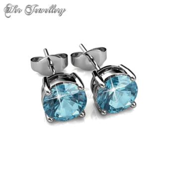 7 Days Earrings Set - Crystals from Swarovski - 4