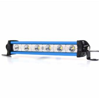7 inch 18W Cree Chips LED Spot Ultra Slim LED Light Bar Work lightBLUE SHELL(WHITE)