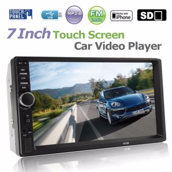 7 Inch 2 DIN Bluetooth In Dash Touch Screen Car Audio Stereo MP3 MP5 Player