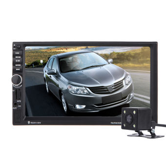 7 inch 2 Din touch screen Bluetooth Input GPS Car Mp5 Australia - intl