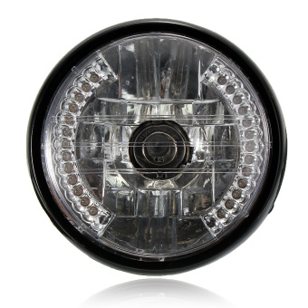 7 inch 35W Motorcycle H4 Halogen Headlight Halo Lamp LED Turn Signal FOR Honda Light
