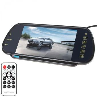 7 Inch TFT Color LCD Car Rearview Mirror Monitor MP5 Support SD USB- intl