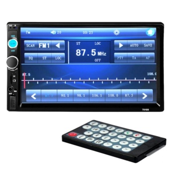 7 Inches HD Bluetooth Car Stereo Radio 2 DIN FM/MP5/USB/AUX/Touch Screen