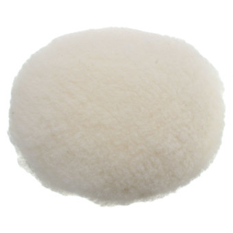 7'' 180mm Buffer Soft Wool Car Polisher Buffing Polishing Bonnet Pad with Loop - intl