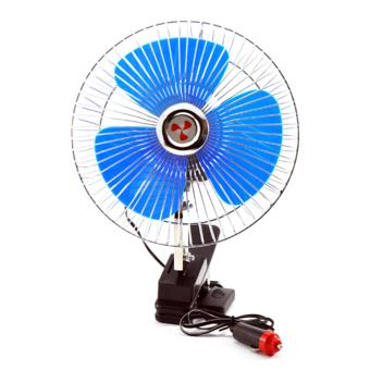 "8"" 12V Portable Vehicle Auto Car Fan Oscillating Car Auto CoolingFan Clip Type"