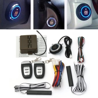 8x Car Alarm Start Security System Key Passive Keyless Entry Push Button Remote - intl