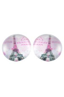 8Years UP01510 Stud Earrings (Pink)