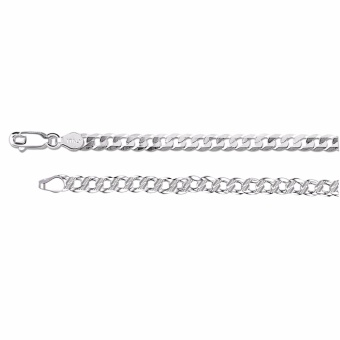 925 Silver Chain Necklace for Unisex 16in 3mm(silver)