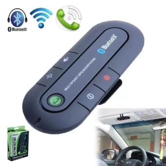 #980 Bluetooth Hands-free Car Kit Wireless Portable Multipoint SunVisor In-car Remote Control