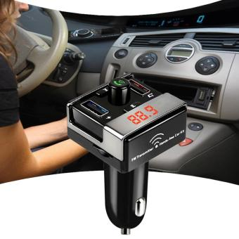 A7 Bluetooth Car Kit FM Transmitter MP3 Player Car ChargerHands-free Call Support USB Flash Drive TF Card