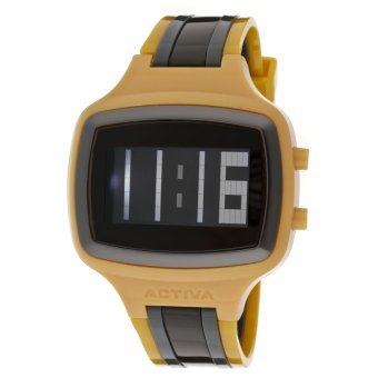 Activa by Invicta Giotto 45 DigitalMen'sMulti-colorPolyurethaneStrap Watch AA400-023