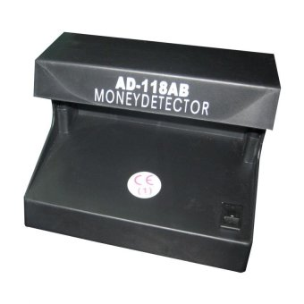 AD-118 AB Electronic Money Detector (Black)