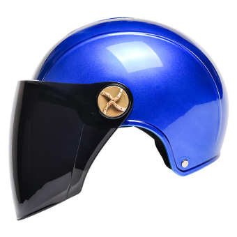 Ad men and women summer motorcycle half safety cap helmet