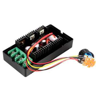 Adjustable 10-50V/40A/2000W DC Motor Speed Control PWM HHO RC Controller.