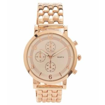 Aeropostale Classic Women's Rose Gold Metal Watch
