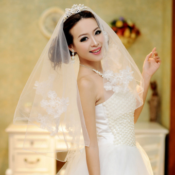 Ai Mandi bride wedding veil