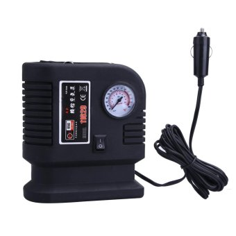 Air Compressor Portable Pump 300PSI Auto Car SUV Tire 12V Volt + 3 Adapter - intl
